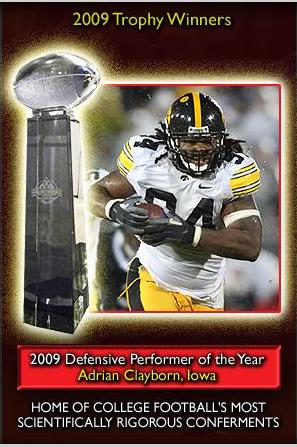 2009 Defensive Performer of the Year