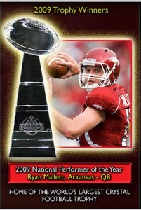 Ryan Mallett is 2009 NPOY