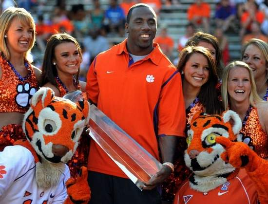CJ Spiller Greenville Oline photo