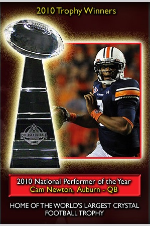 Cam Newton, National Performer of the Year