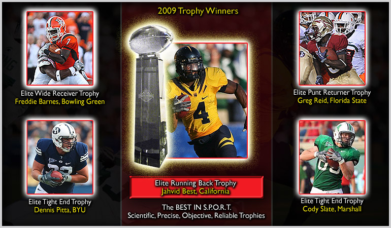 2009 Award Winners - Elite Graphic Slide