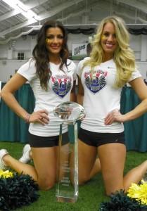 Duck Cheerleaders 2