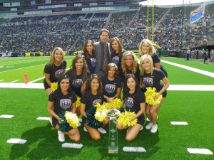 Duck Cheerleaders